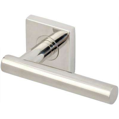 Copenhagen Series Square Stainless Steel Polished Right Handed Single Dummy Door Lever
