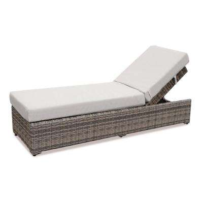 Cherry Hill Patio Chaise Lounge with Cast Ash Cushion