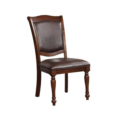 Sylvana in Brown Cherry Side Chair