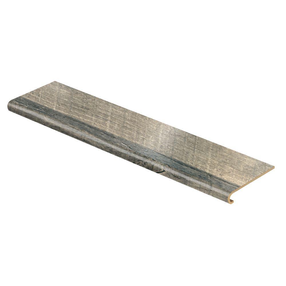 Cap A Tread Grey Cross Sawn Oak 94 In Length X 12 1 8 In