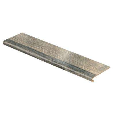 Grey Cross Sawn Oak 94 in. Length x 12-1/8 in. Deep x 1-11/16 in. Height Laminate to Cover Stairs 1 in. Thick