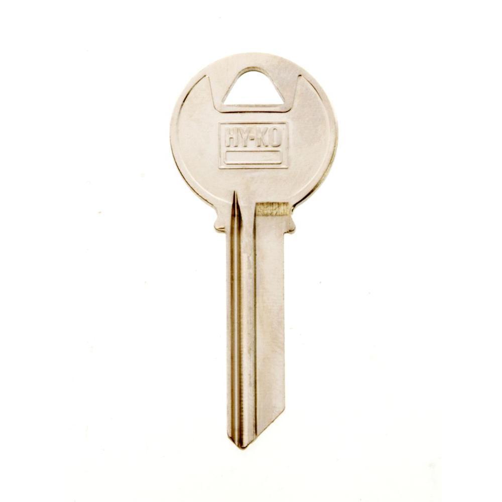 Hy Ko Blank Yale Lock Key 11010y4 The Home Depot