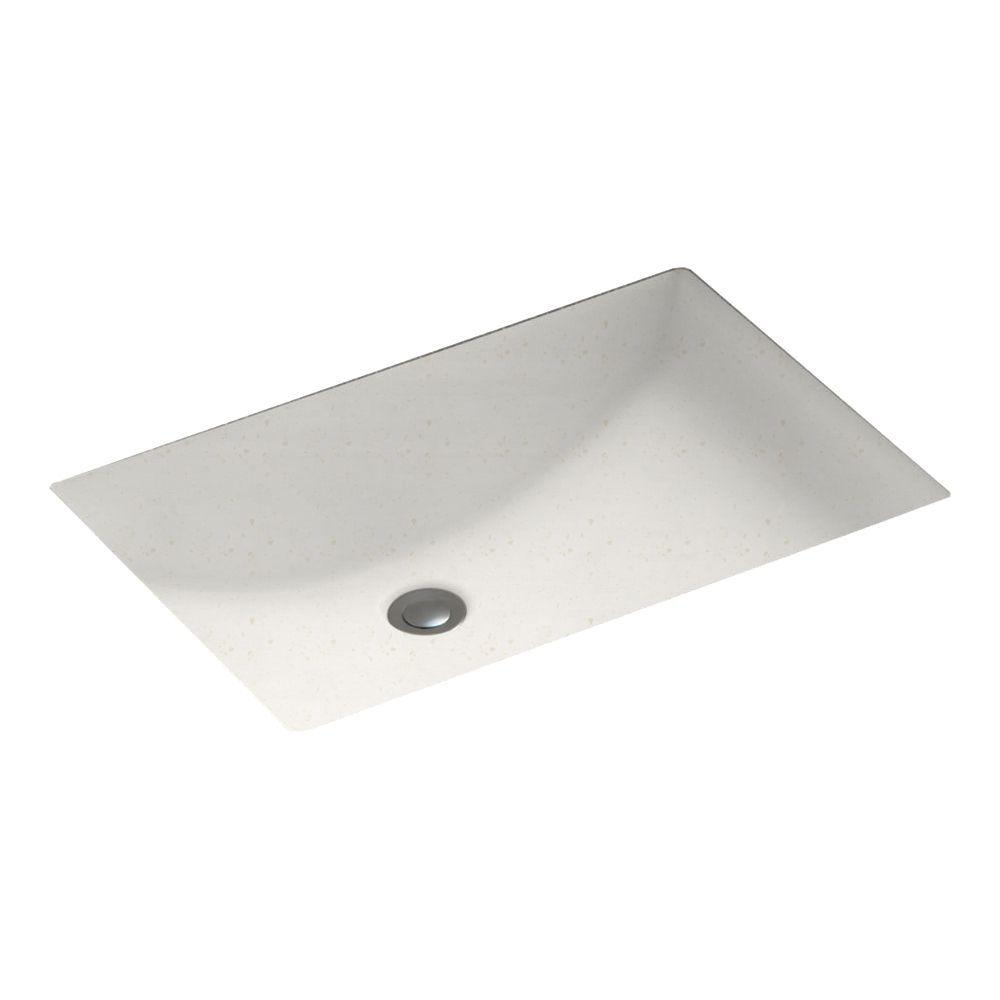 Contour Undermount Bathroom Sink in Baby's Breath