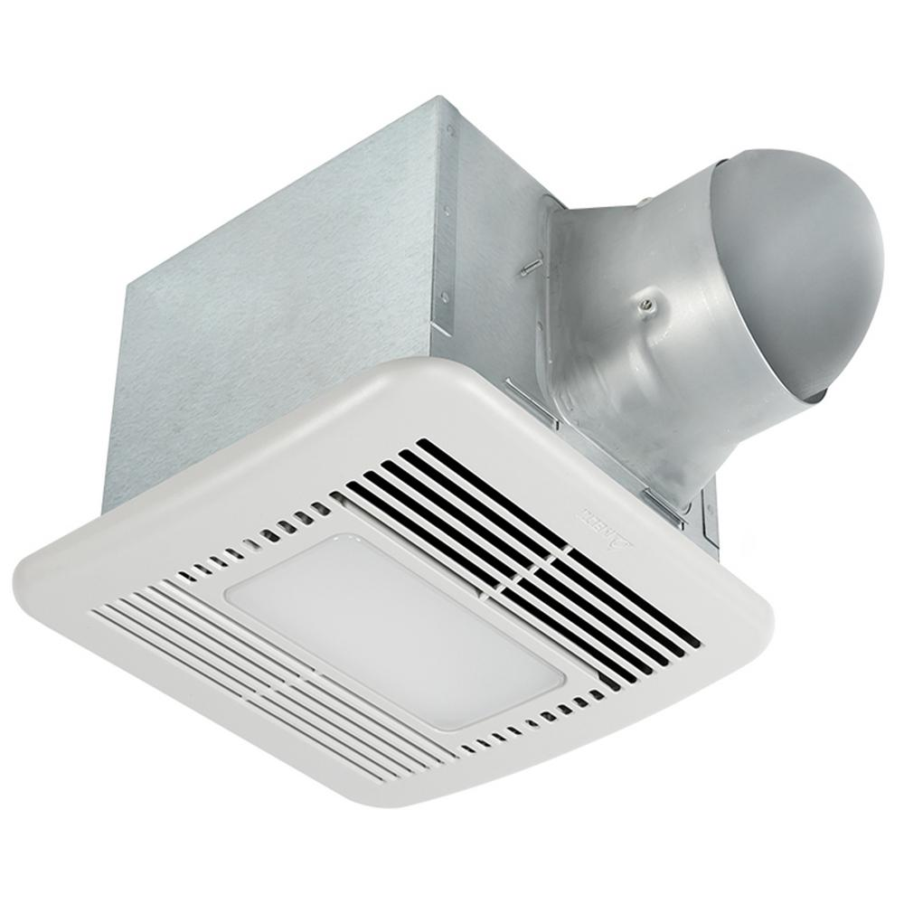 Signature 80/110 CFM Adjustable Speed Ceiling Exhaust Bath Fan with Dimmable