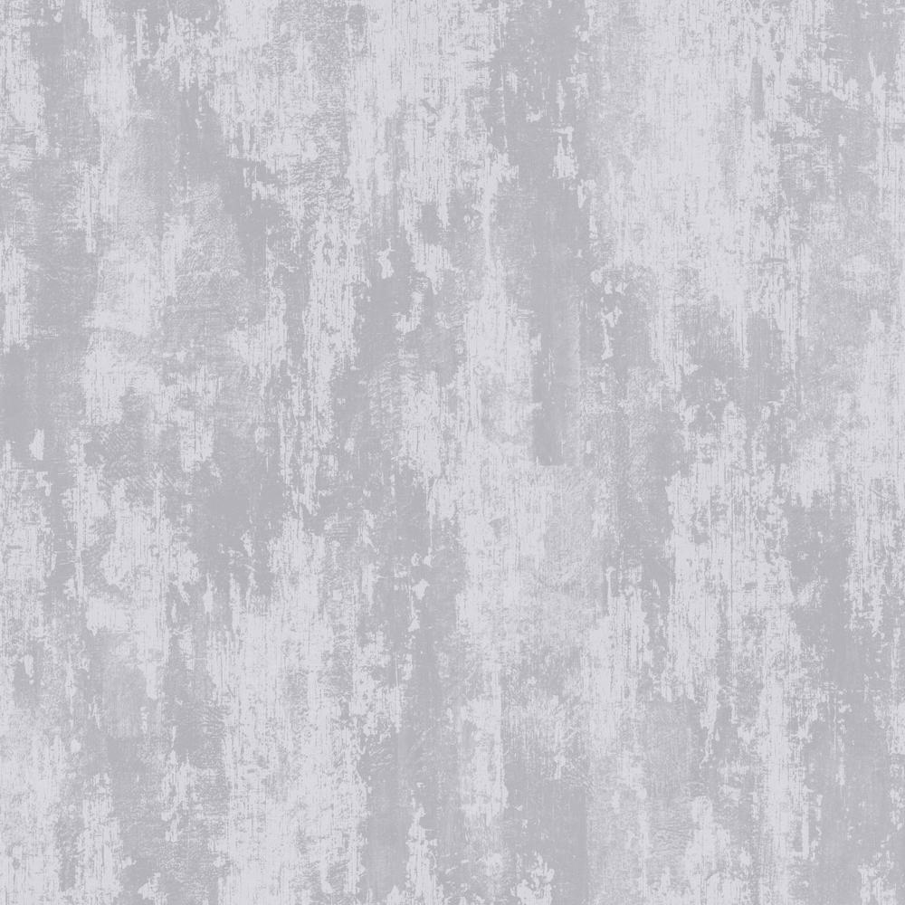 Graham brown industrial texture silver removable for Metallic removable wallpaper