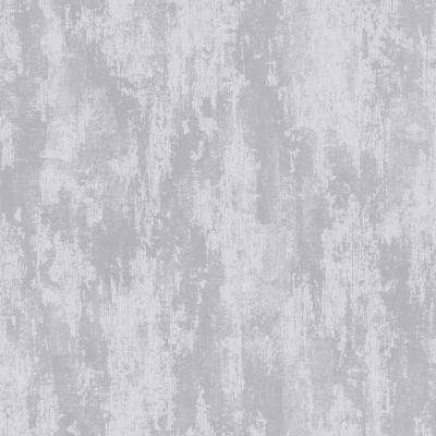 Industrial Texture Silver Removable Wallpaper