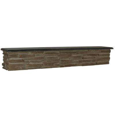 Stone Stacked Wall Rack