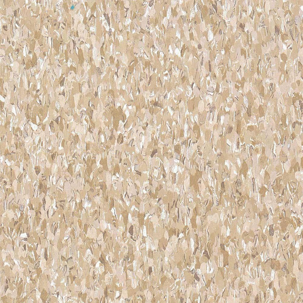 Armstrong Imperial Texture Vct 12 In X 12 In Cottage Tan Standard