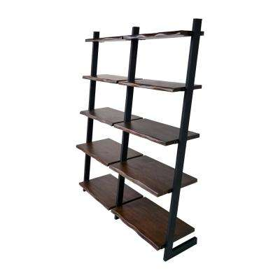 Sornora Brown Ladder Bookcase