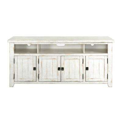 Nantucket White Entertainment Center