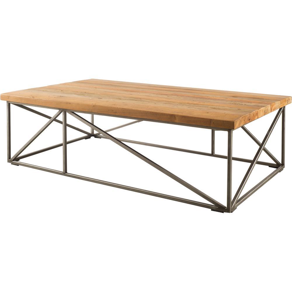 Aspen Home Coffee Table.Mercana Aspen Brown Coffee Table 67461 The Home Depot