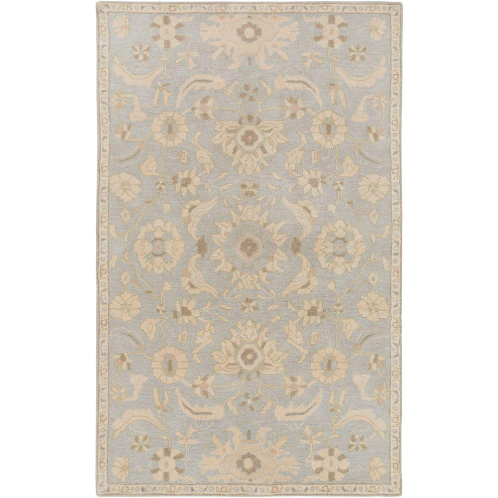 Hanzei Slate 8 ft. x 11 ft. Indoor Area Rug