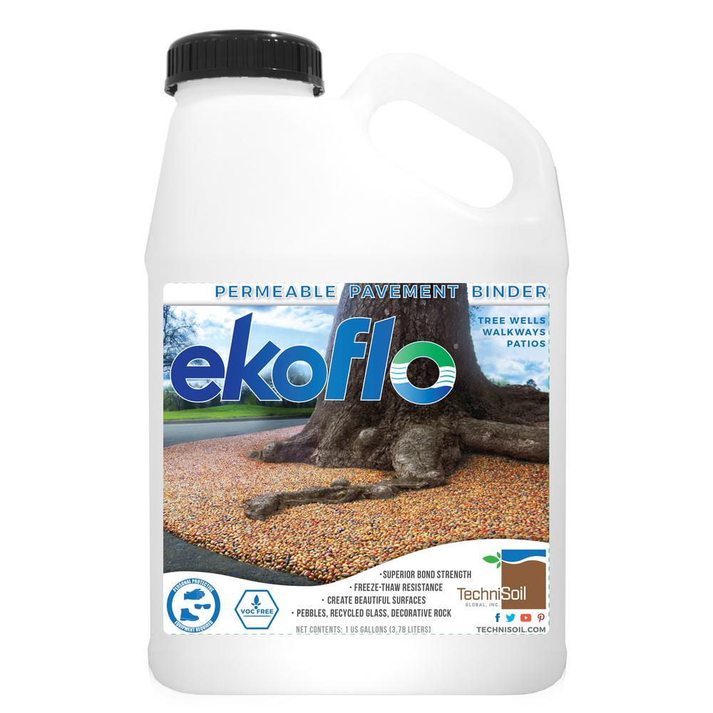 TechniSoil 1 gal  EkoFlo Permeable Pebble Binder