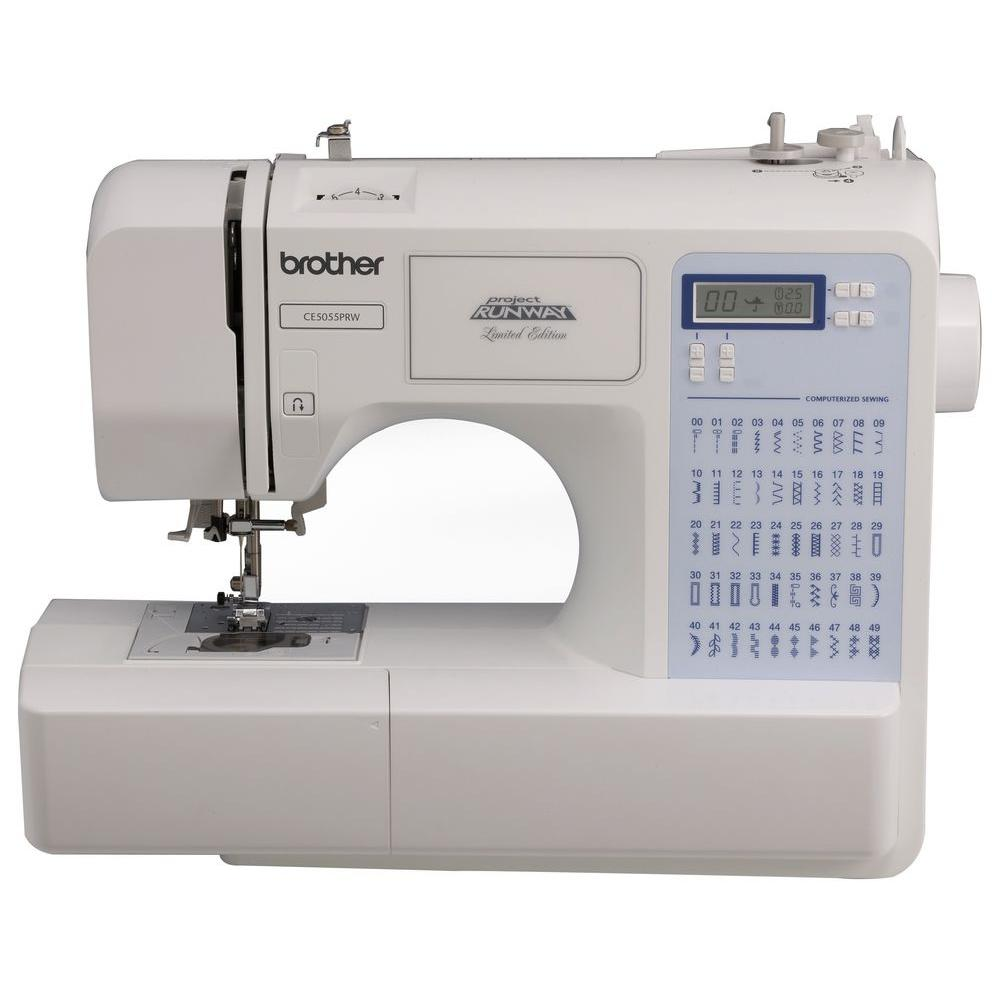 Brother 50 Stitch Sewing Machine Cs5055prw The Home Depot