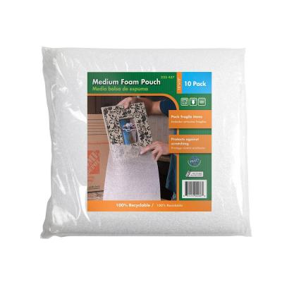 12 in. x 12 in. Medium Foam Pouches (10-Pack)