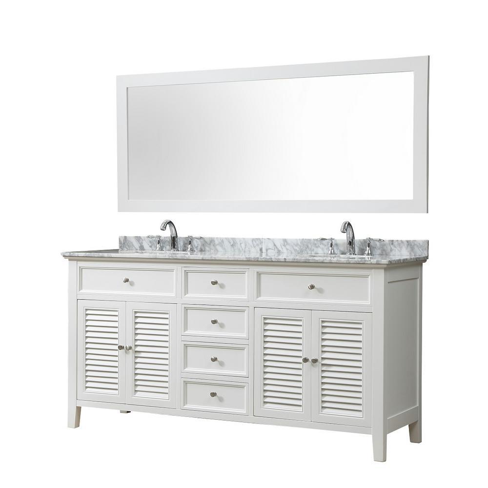 Vanity Sink Shutter 70 In Bath