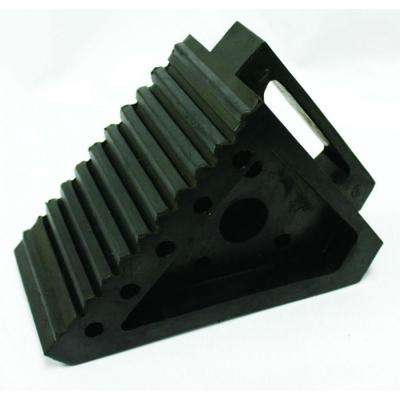 Solid Rubber Heavy Duty Wheel Chock