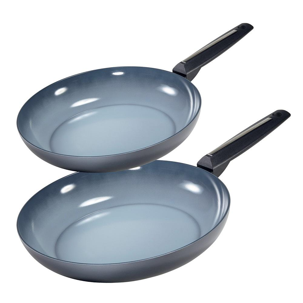 Azul Gres 2-Piece Non-Stick Frying Pan Set