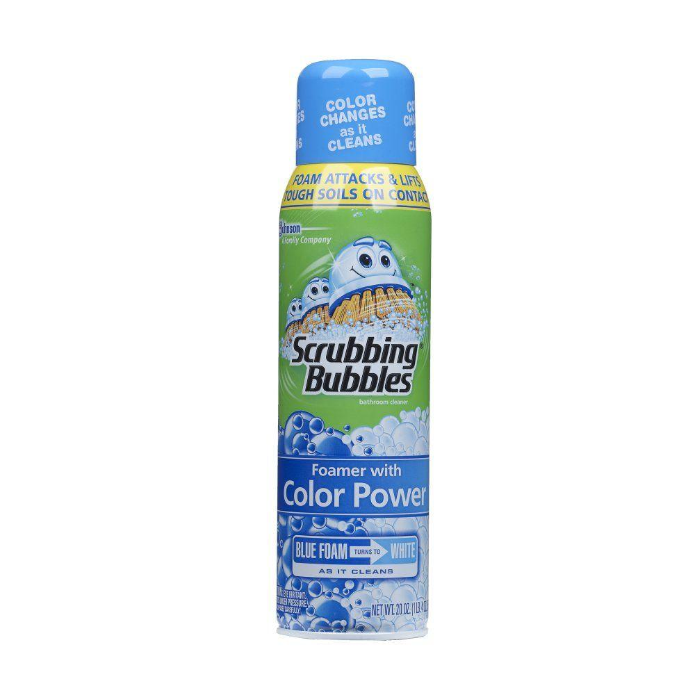 Scrubbing Bubbles 20 oz. Foaming Bathroom Cleaner with Color Power Technology