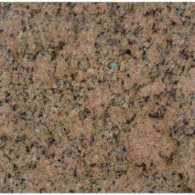 Giallo Veneziano 12 in. x 12 in. Polished Granite Floor and Wall Tile (10 sq. ft. / case)
