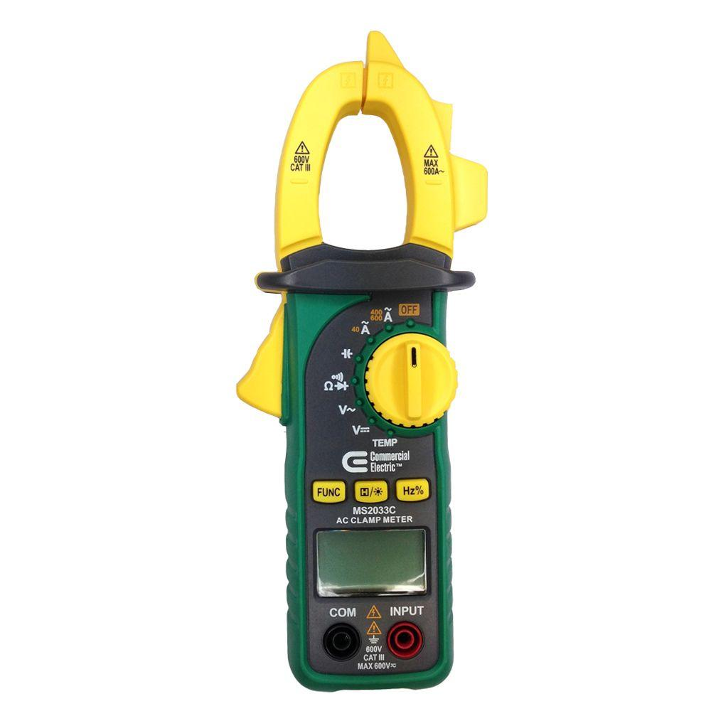 Commercial Electric 600A AC Digital Clamp Meter