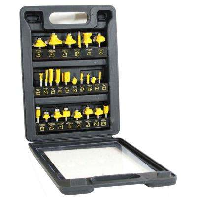 Cabinet Router Bits Woodworking Tool Accessories The Home Depot