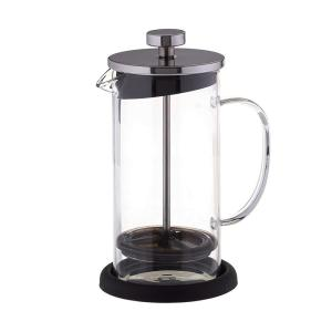3 Cup Coffee Plunger With Coaster And Measuring Spoon
