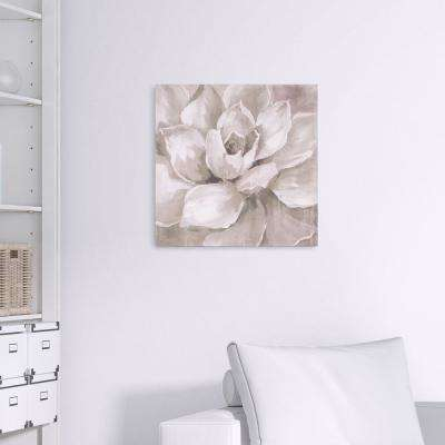 Hazy Summer Succulent Floral Canvas Wall Art