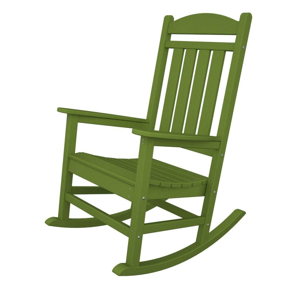 Presidential Lime Patio Rocker