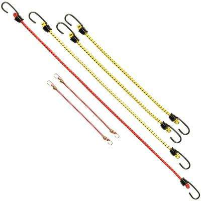 Bungee Cord Assorted (6-Pack)