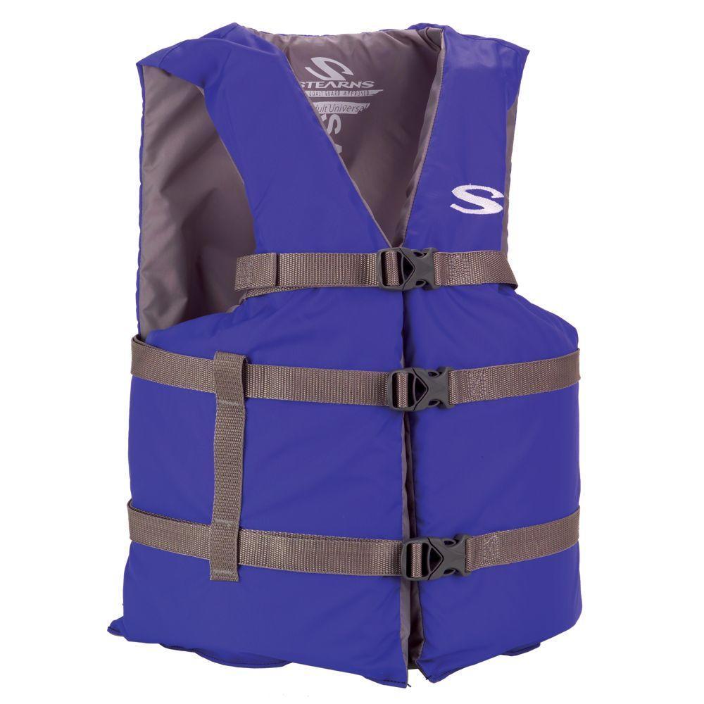 Adult Blue General Purpose Life Vest