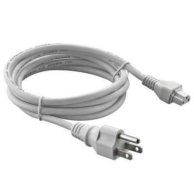 72 in. Power Cord, White