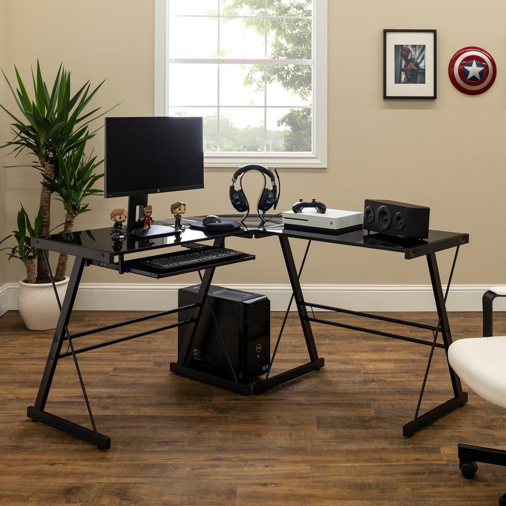 Home Office Black Desk