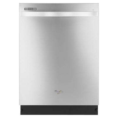 Gold Series Top Control Dishwasher in Monochromatic Stainless Steel with Silverware Spray