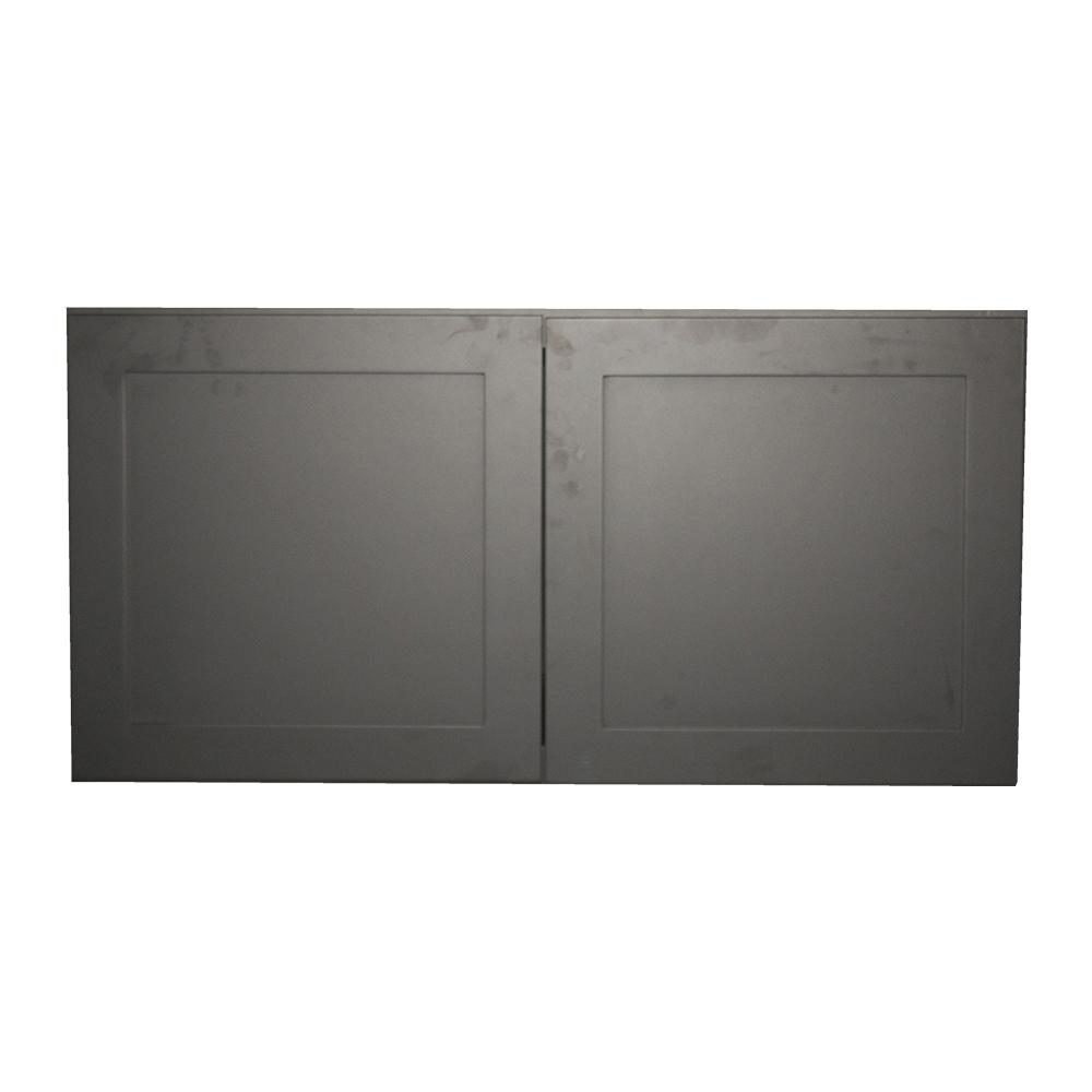 Krosswood Doors Black Satin Shaker Ii