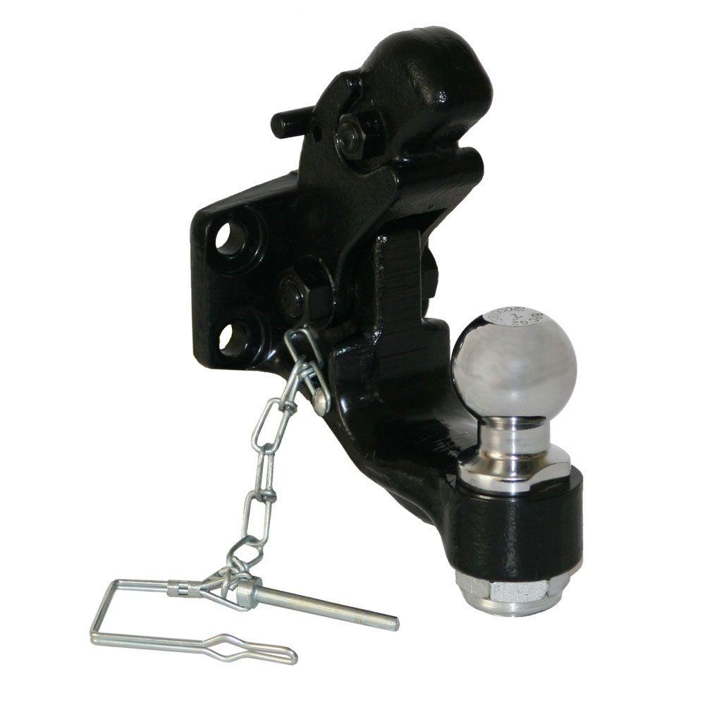 Buyers Products Company 8-Ton Combination Hitch with Mounting Kit