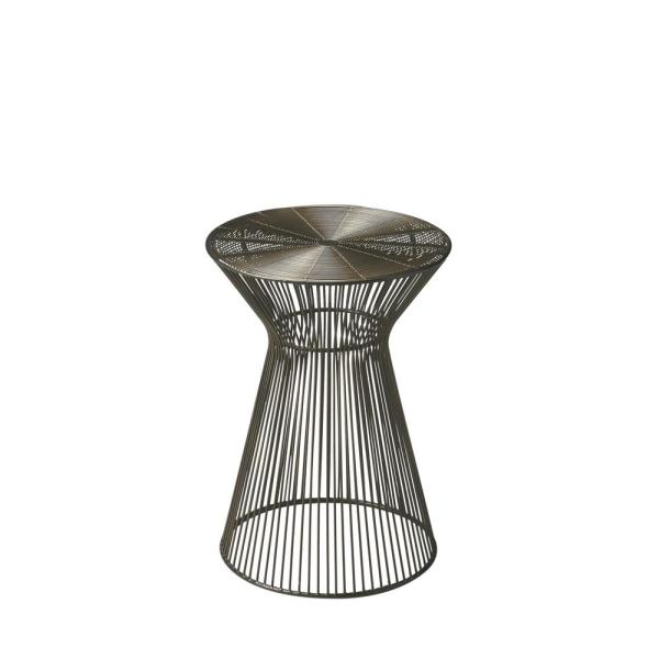 Butler Greeley Round Metal Accent Table
