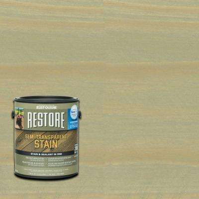 1 gal. Semi-Transparent Stain Putty with NeverWet