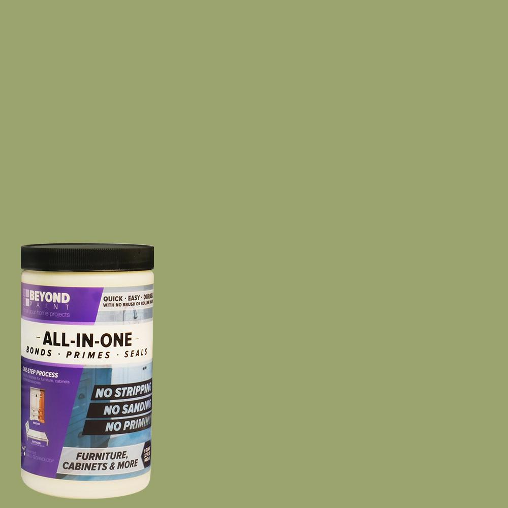 Beyond Paint Beyond Paint 1 qt. Sage Furniture, Cabinets and More Multi-Surface All-in-One Refinishing Paint, Green
