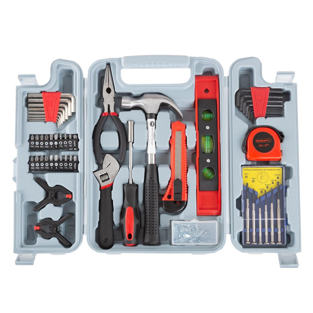 Stalwart Steel Hand Tool Set (132-Piece)