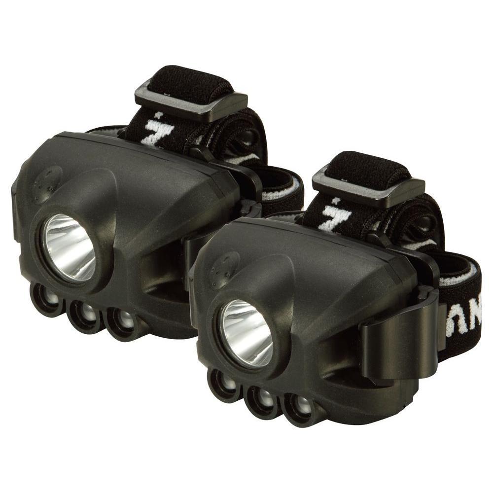 Defiant 100 Lumens LED Headlamps (2-Pack)