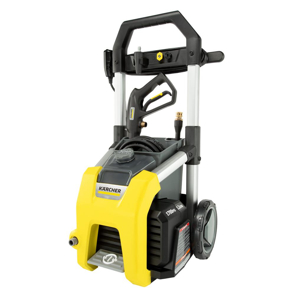 K1710 1700 PSI 1.2 GPM Electric Pressure Washer