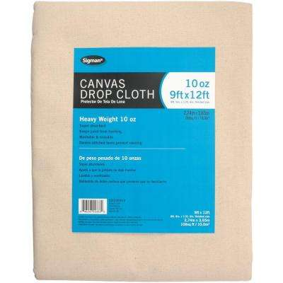 8 ft. 6 in. x 11 ft. 6 in., 10 oz. Canvas Drop Cloth