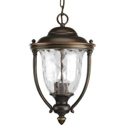 Prestwick Collection 2-Light Oil-Rubbed Bronze Outdoor Lantern