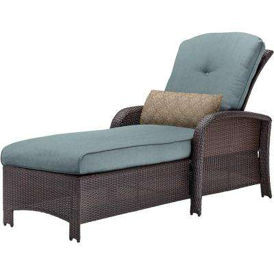 Corolla Wicker Outdoor Chaise Lounge ...