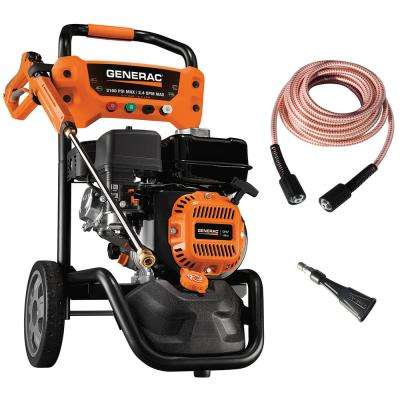 3,100 PSI 2.4 GPM OHV Engine Axial Cam Pump Gas Pressure Washer with Ultra-Flex Hose and Soap Blaster