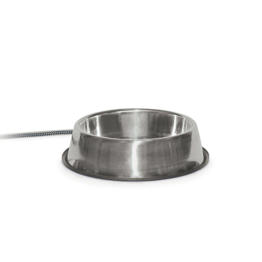 25-Watt Stainless Steel Thermal Bowl - 120 oz.