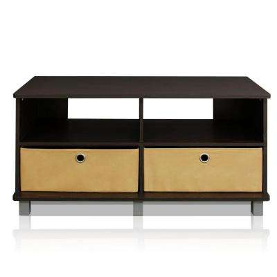 Home Living Espresso Entertainment Center