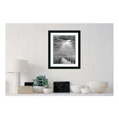 20.25 in. W x 24.25 in. H Storm Clearing by Ellen Fish Printed Framed Wall Art
