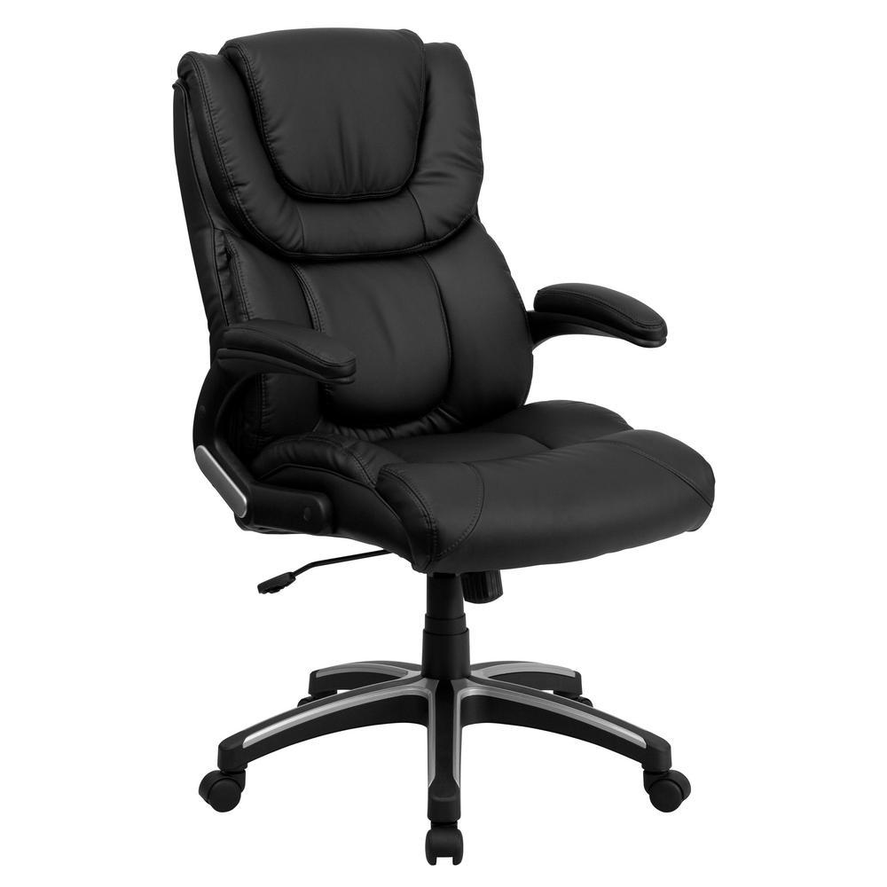 Flash Furniture Black Office/Desk Chair CGA-BT-8037-BL-HD
